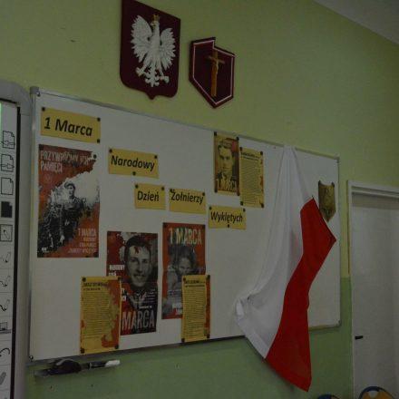 """V Edycja Konkursu Wiedzy o ,,Żołnierzach Wyklętych"""""""