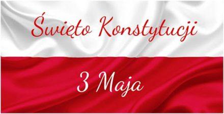230 – rocznica uchwalenia Konstytucji 3 Maja